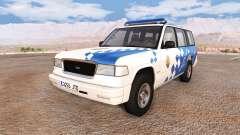 Gavril Roamer spanish police v3.5 for BeamNG Drive