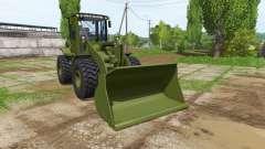 John Deere 524K army for Farming Simulator 2017