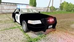 Ford Crown Victoria highway patrol for Farming Simulator 2017