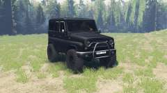UAZ 315195 hunter for Spin Tires