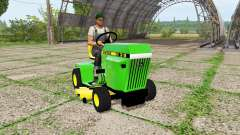 John Deere 318 mower for Farming Simulator 2017