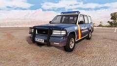 Gavril Roamer spanish police v3.2 for BeamNG Drive