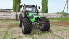 Deutz-Fahr Agrotron 620 TTV v3.3 for Farming Simulator 2017