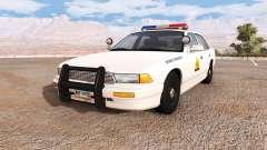 Gavril Grand Marshall utah highway patrol for BeamNG Drive