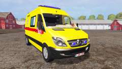 Mercedes-Benz Sprinter 311 CDI Ambulance for Farming Simulator 2015