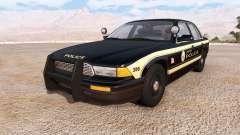 Gavril Grand Marshall jenisen police v2.0 for BeamNG Drive