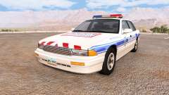 Gavril Grand Marshall police municipale for BeamNG Drive
