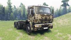 Color Desert camo for KAMAZ 6520
