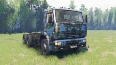 The color is Winter camo for KAMAZ 6520