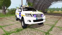 Toyota Hilux SAMU for Farming Simulator 2017