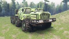 MAZ 7310 alligator for Spin Tires