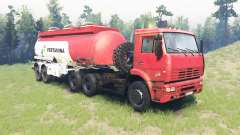 Color Pertamina for KAMAZ 6520