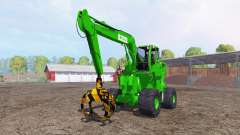 Liebherr A900C passion paysage logging for Farming Simulator 2015