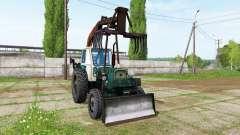 UMZ 6L grapple for Farming Simulator 2017