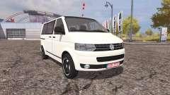 Volkswagen Transporter (T5) v2.0 for Farming Simulator 2013