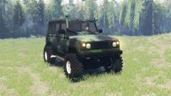 UAZ 3172 Spy v3.0 for Spin Tires