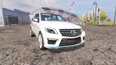Mercedes-Benz ML 63 AMG (W166) v1.1
