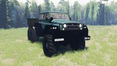 UAZ Game 6x6 for Spin Tires