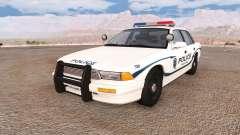 Gavril Grand Marshall wayland police v2.0 for BeamNG Drive
