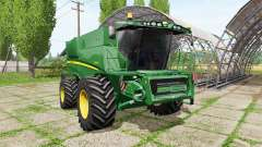 John Deere S690i for Farming Simulator 2017