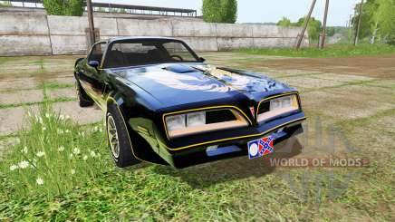 Pontiac Firebird Trans Am for Farming Simulator 2017