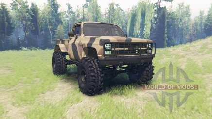 Chevrolet K5 Blazer M1008 for Spin Tires