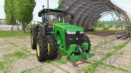 John Deere 8400R v3.0.0.1 for Farming Simulator 2017