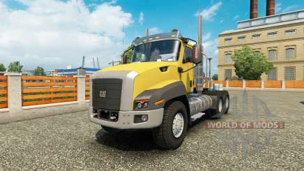 Caterpillar CT660 v1.1 for Euro Truck Simulator 2