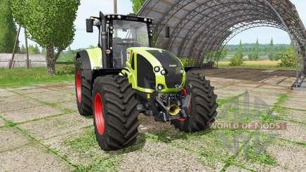 CLAAS Axion 930 v1.1 for Farming Simulator 2017