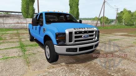 Ford F-350 Super Duty Crew Cab for Farming Simulator 2017