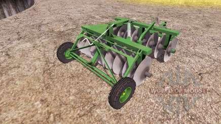 Disc harrow v2.0 for Farming Simulator 2013