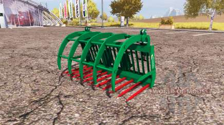 Albutt grapple fork for Farming Simulator 2013