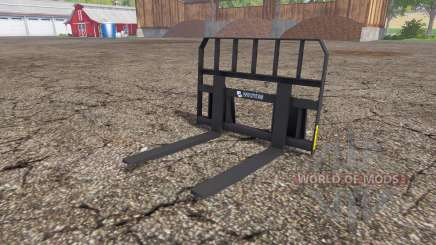 Whites pallet fork for Farming Simulator 2015
