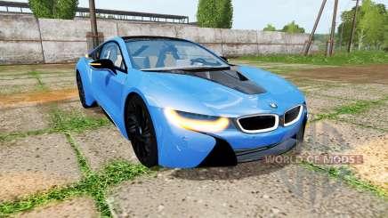 BMW i8 (I12) v1.5 for Farming Simulator 2017