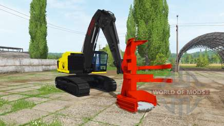 Feller buncher for Farming Simulator 2017