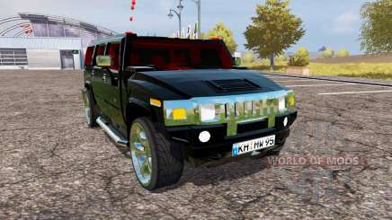 Hummer H2 v1.2 for Farming Simulator 2013