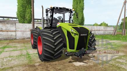 CLAAS Xerion 4500 v1.0.5 for Farming Simulator 2017