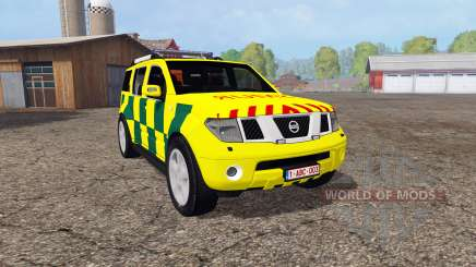 Nissan Pathfinder (R51) SMUR for Farming Simulator 2015