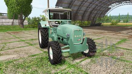 MAN 4p1 1960 for Farming Simulator 2017