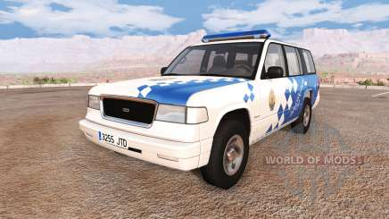 Gavril Roamer spanish police v3.5 for BeamNG Drive
