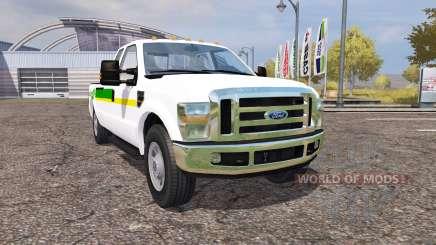 Ford F-350 John Deere for Farming Simulator 2013