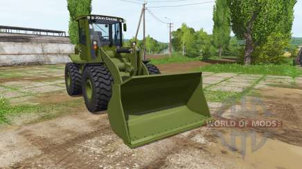 John Deere 524K army for Farming Simulator 2017