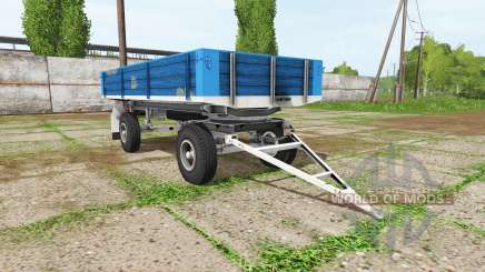 BSS tractor trailer for Farming Simulator 2017