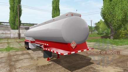 American tanker for Farming Simulator 2017