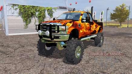 Ford F-350 monster for Farming Simulator 2013