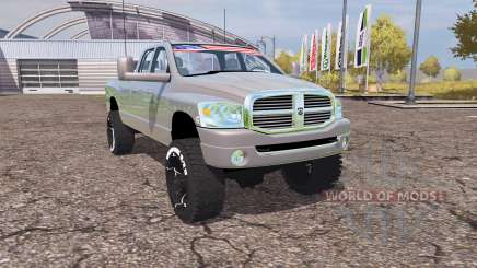 Dodge Ram 2500 2008 v2.0 for Farming Simulator 2013