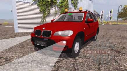 BMW X5 4.8i (E70) v1.1 for Farming Simulator 2013