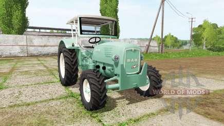MAN 4p1 1960 v2.0 for Farming Simulator 2017