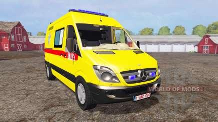 Mercedes-Benz Sprinter 311 CDI Ambulance for Farming Simulator 2015
