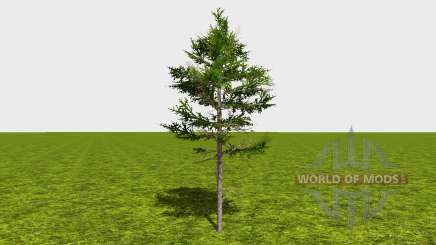 Forestry trees for Farming Simulator 2015